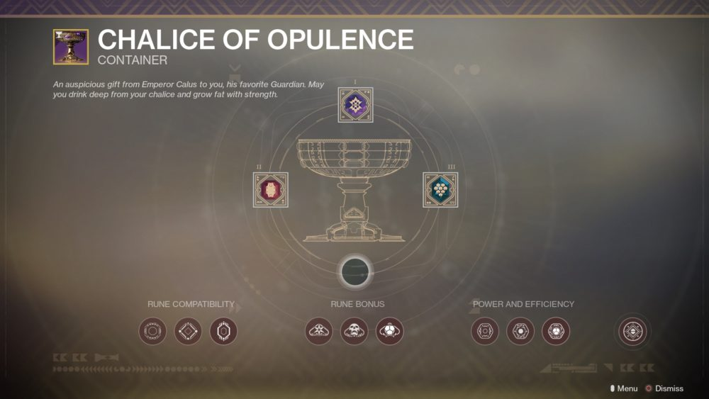 how to get runes, chalice of opulence, upgrade