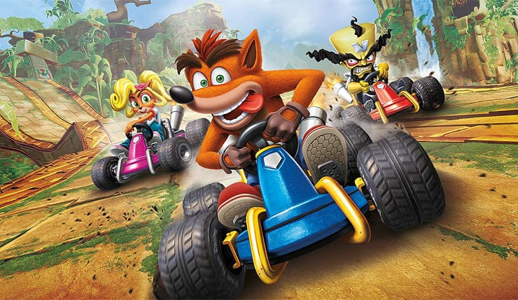 how long crash team racing nitro fueled is and how many tracks there are