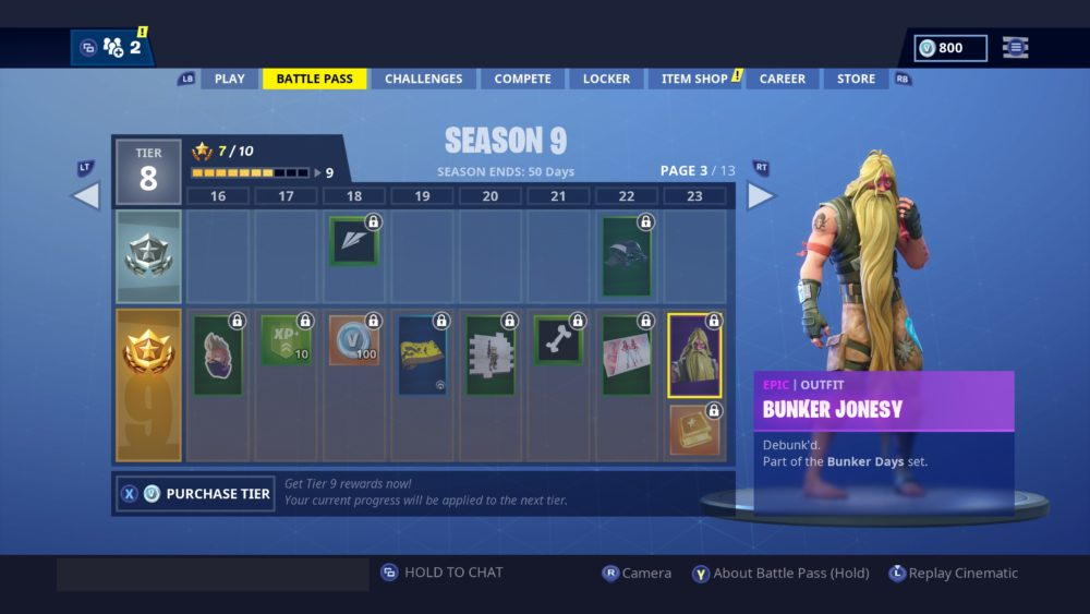 how to get bunker jonesy outfit in Fortnite