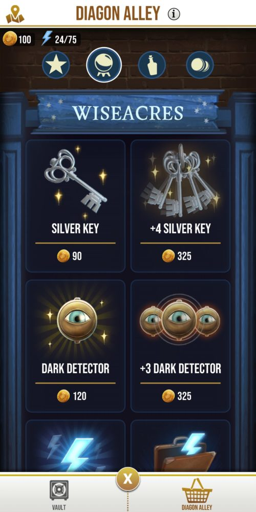 how to get silver keys in wizards unite