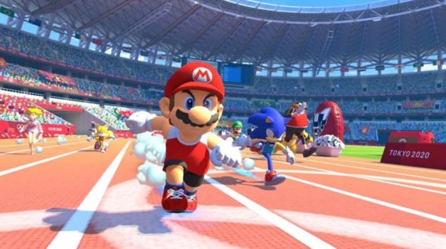 31. Mario and Sonic at the Tokyo 2020 Olympics