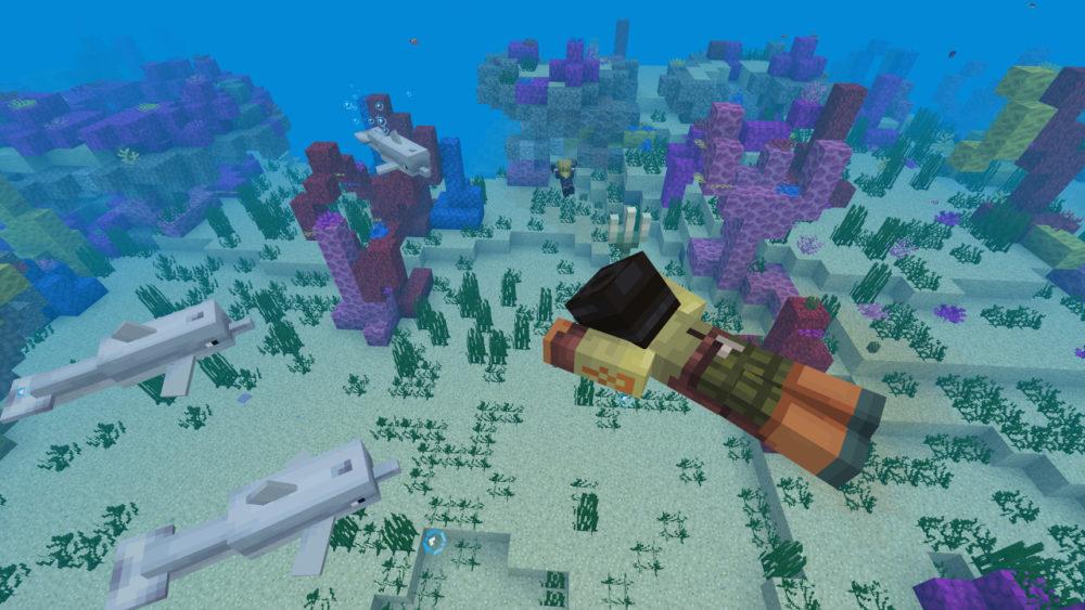 minecraft, buried treasure chests