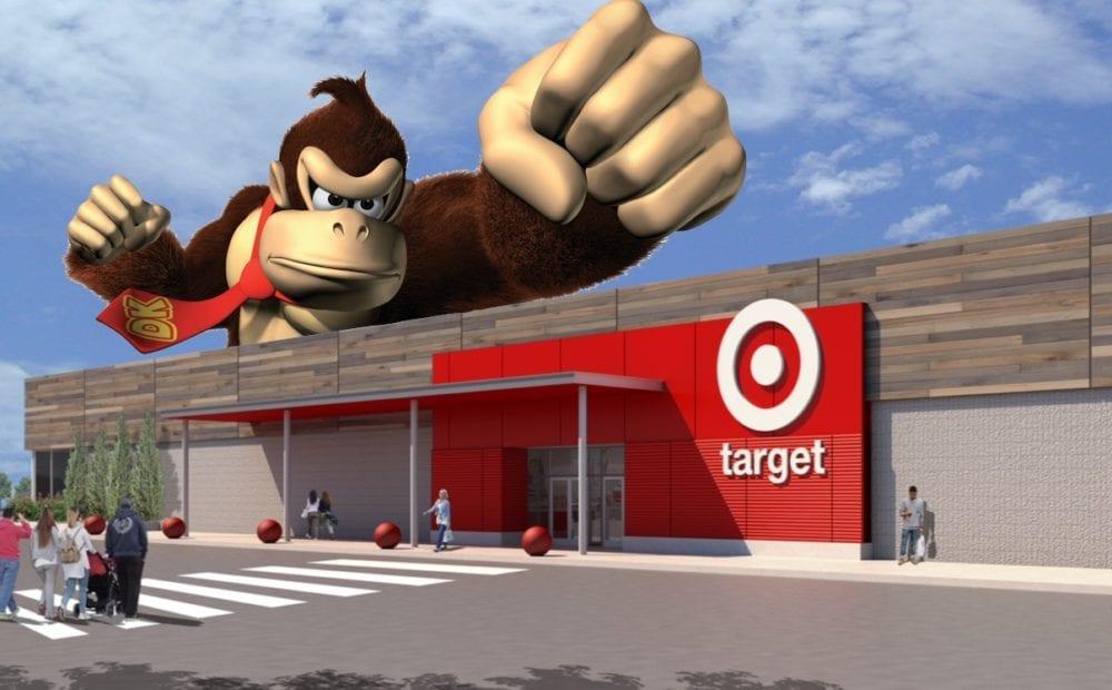 Donkey Kong Target