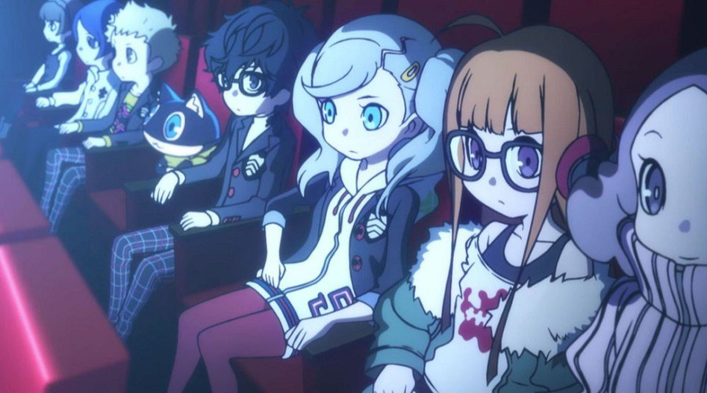 persona q2, blank cards, wild cards