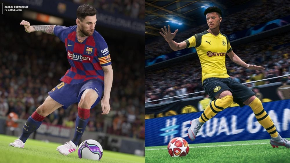 FIFA 20 vs  PES 20: Which Improves Most and Plays Best