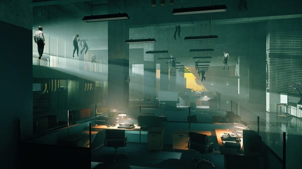 Remedy's Control, e3 2019, hands-on preview, impressions