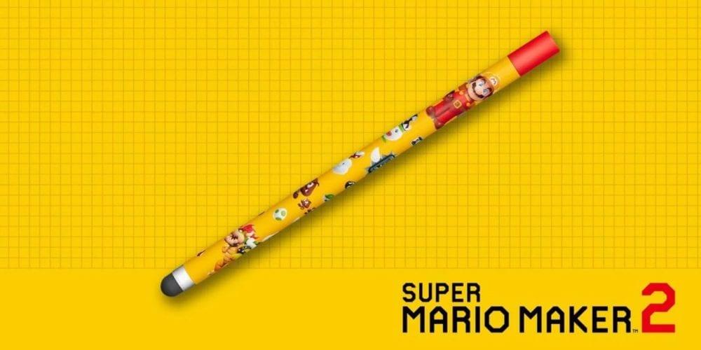 Super Mario Maker 2, Stylus