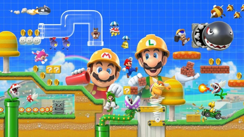 super mario maker 2, change styles, how to