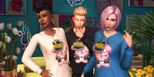 the sims 4, moschino