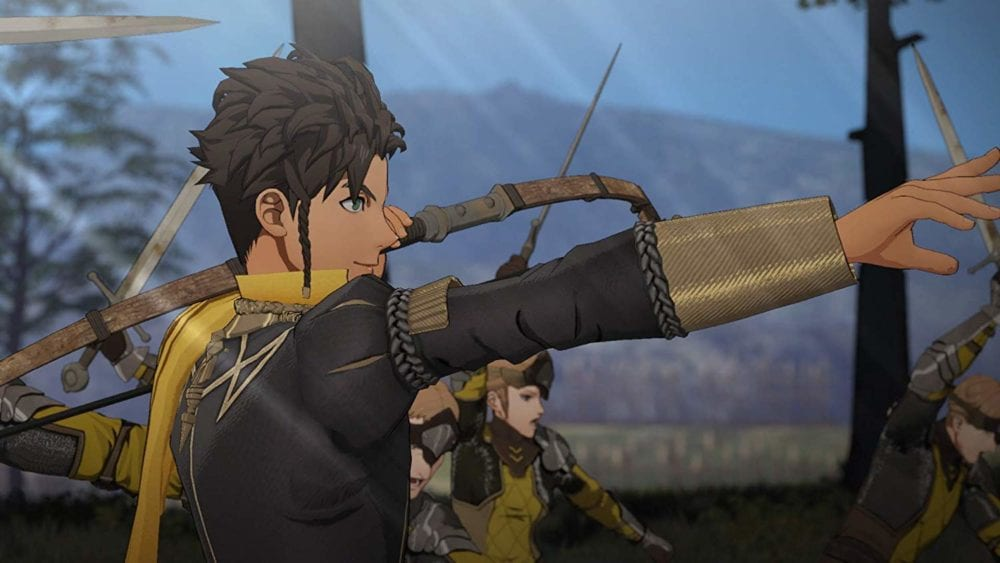 how to open chests in fire emblem three houses
