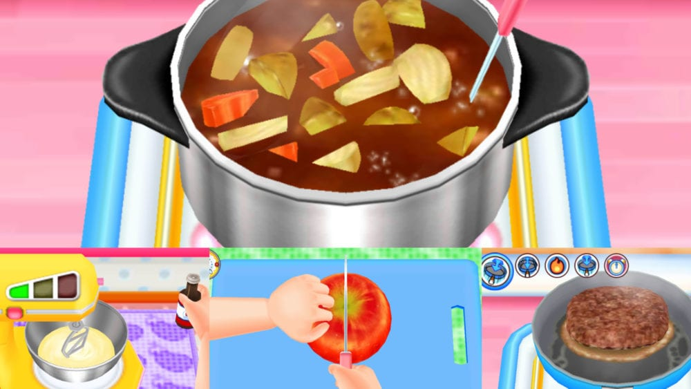 Cooking Mama food