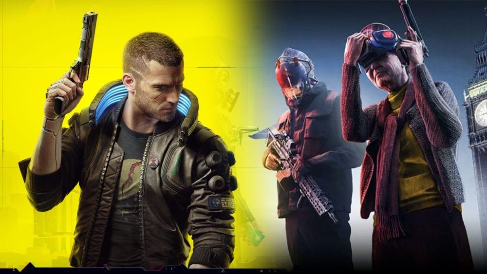 Cyberpunk 2077 Watch Dogs: Legion