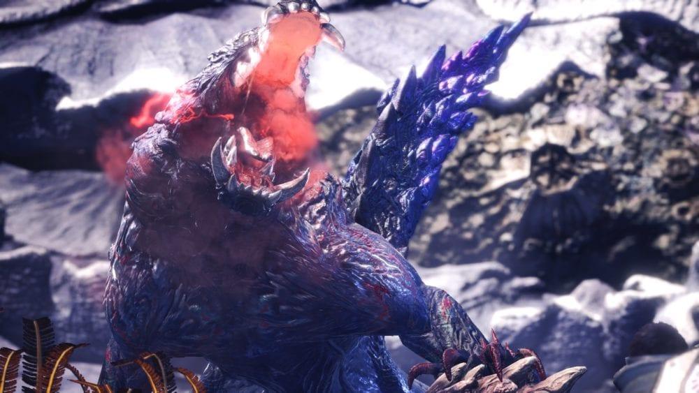 Ebony Odogaron, monster hunter world, new monsters