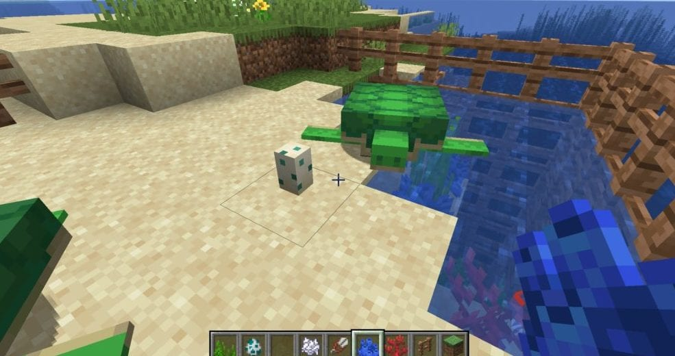 minecraft, breed turtles