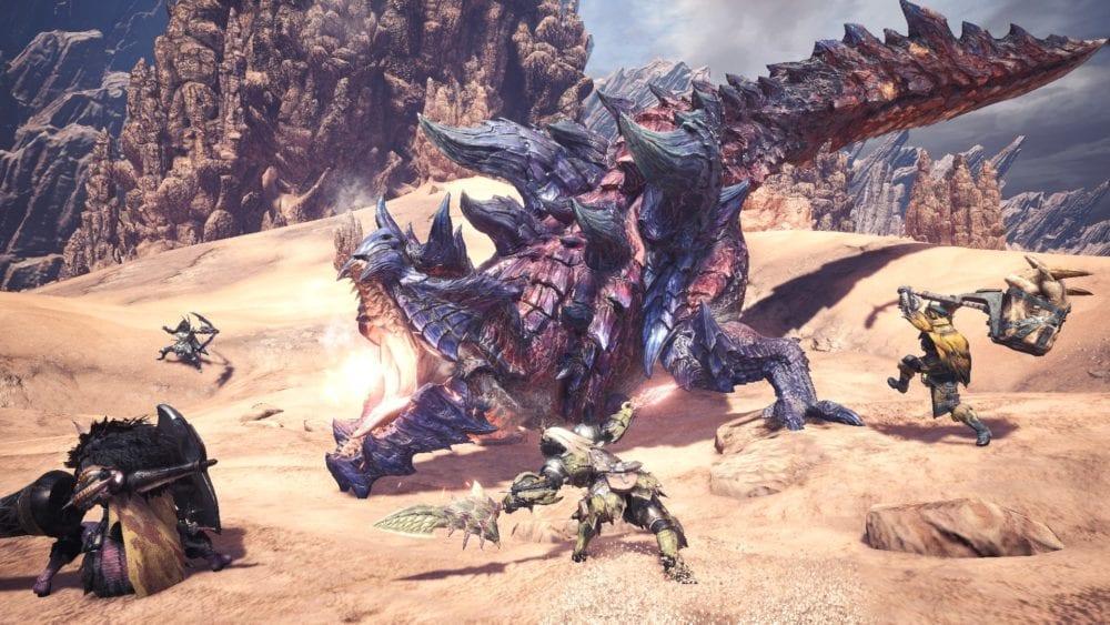 Glavenus, monster hunter world, new monsters