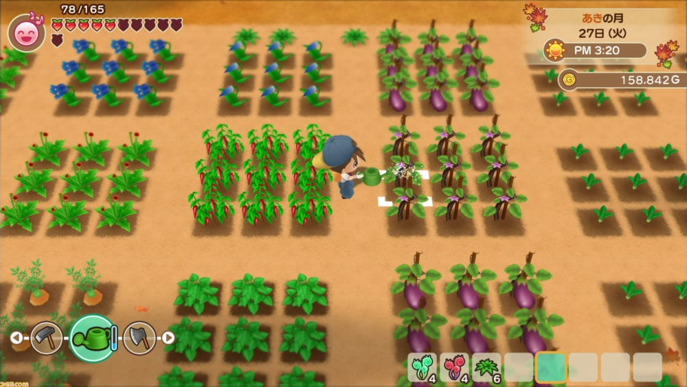 harvest moon, friends of mineral town, story of seasons