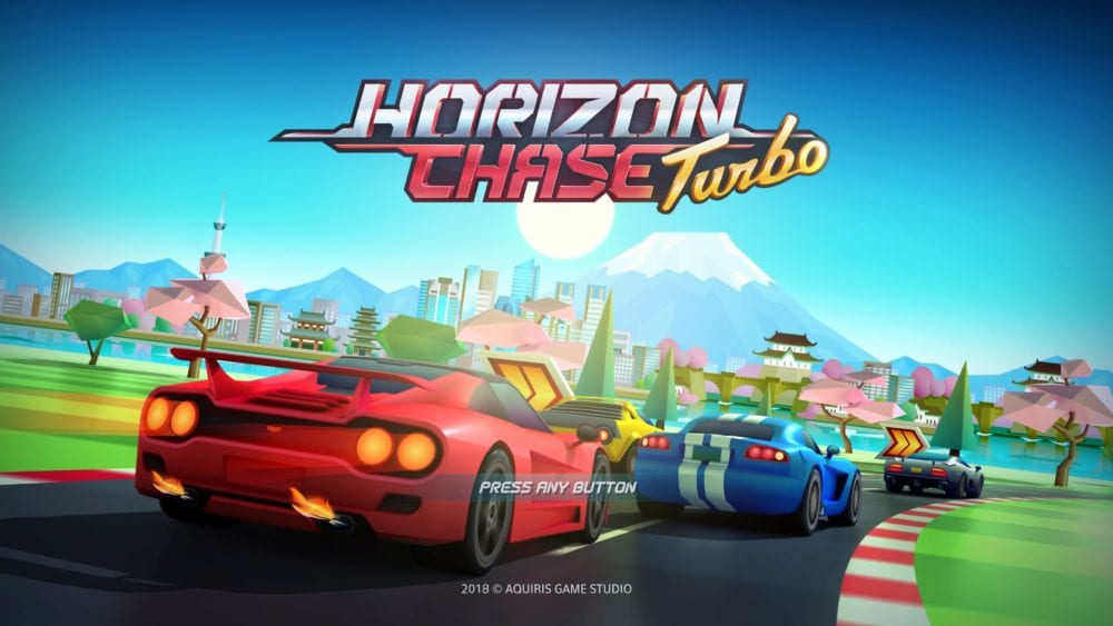 Horizon Chase Turbo, modes,