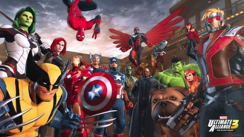 marvel ultimate alliance 3, supported controllers