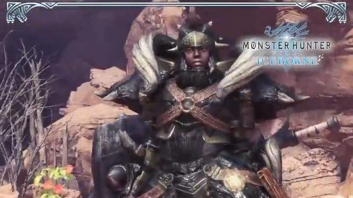 Monster Hunter World Iceborne Reveals Black Diablos Master Rank Armor In New Videos