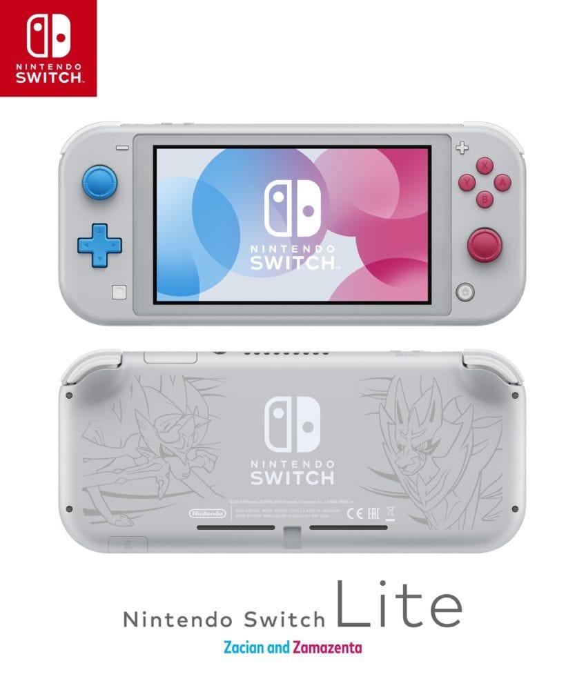 Nintendo Switch Lite, Pokemon Sword and Shield Edition