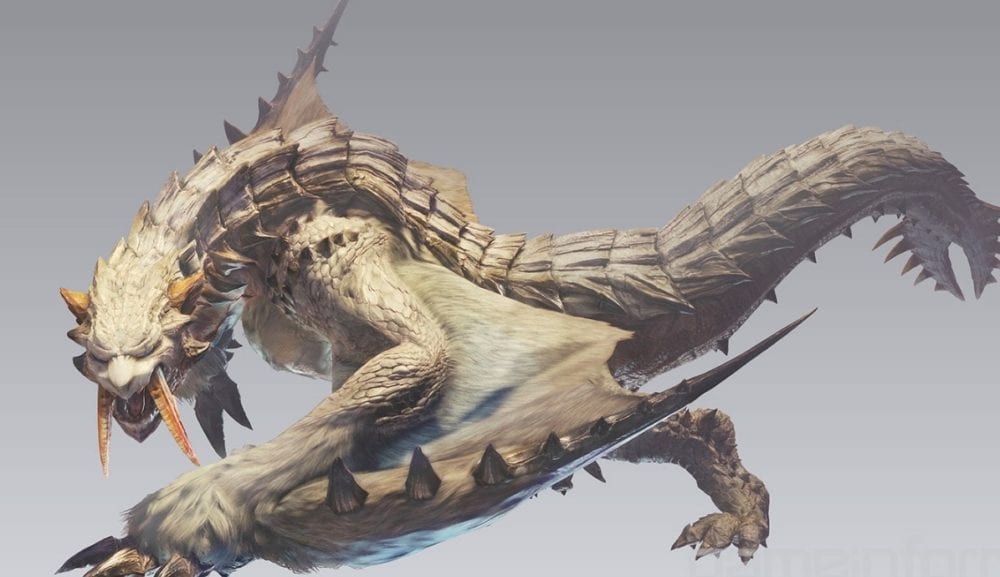 barioth, monster hunter world, new monsters