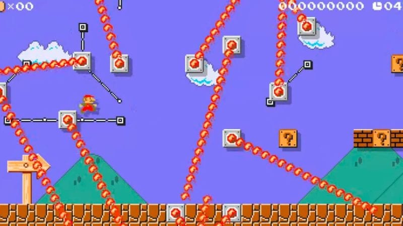 Super Mario Maker 2, level 1-1, super mario bros.
