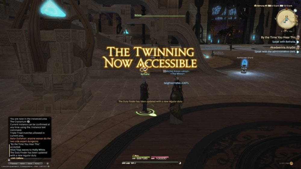 how to unlock, twinning, 80 dungeon, ffxiv