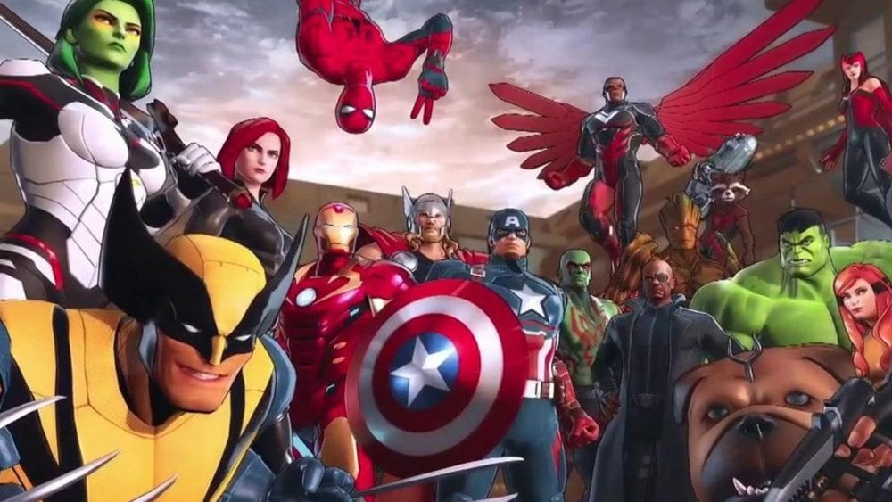marvel ultimate alliance 3, best, teams, characters