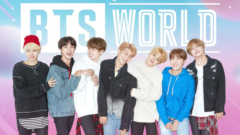 bts world, gifts