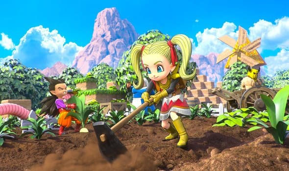 dragon quest builders 2, farmer's bedroom, how to build