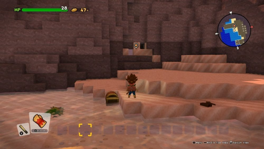 where to go after shipwreck in dragon quest builders 2