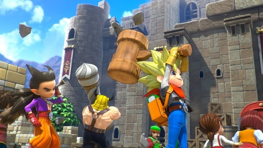 Dragon Quest Builders 2, How to Store Items and Materials