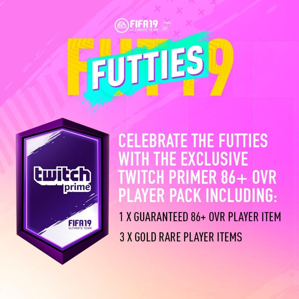 FIFA 19: How to Get Free Twitch Prime Packs