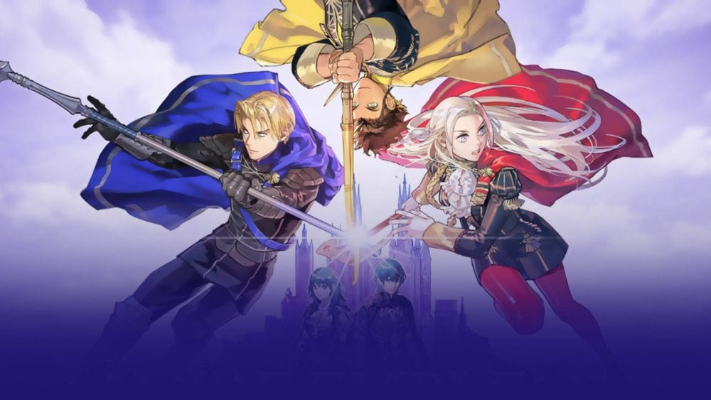 fire emblem three houses, hero relic weapons