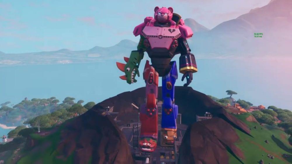 fortnite giant robot
