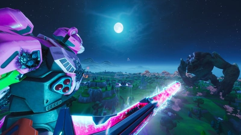 fortnite monster v mech event twitch viewership