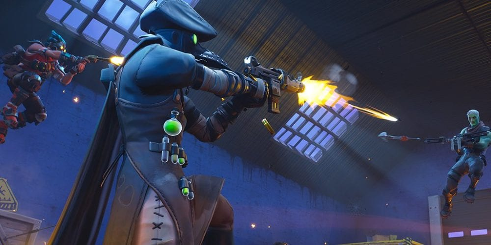 fortnite season 9 overtime challenges, eliminate opponents with a friend