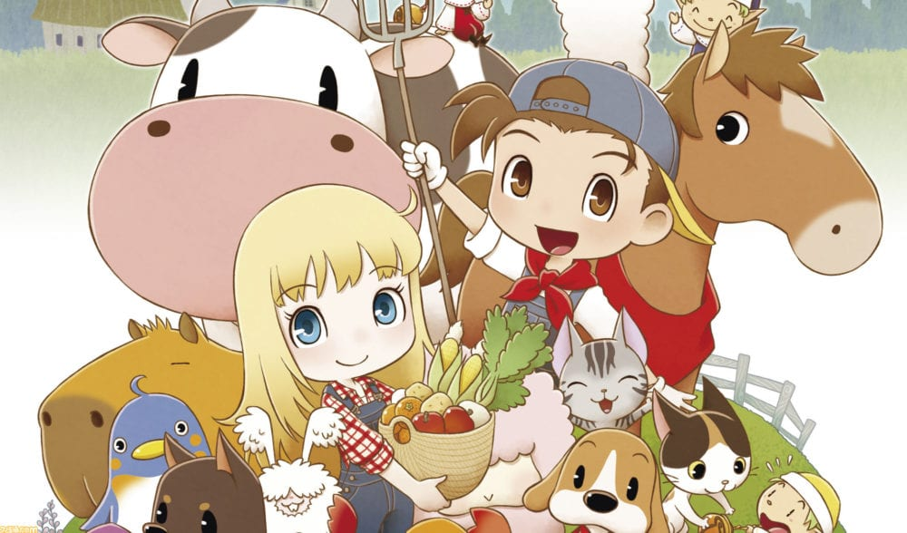 Harvest Moon Friends of Mineral Town Remake artwork