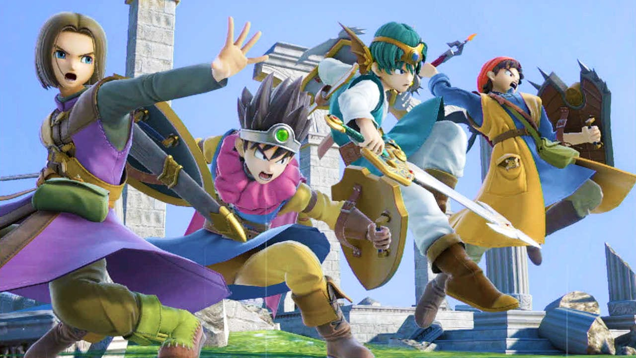 smash bros ultimate, dragon quest, hero, how to play, tips