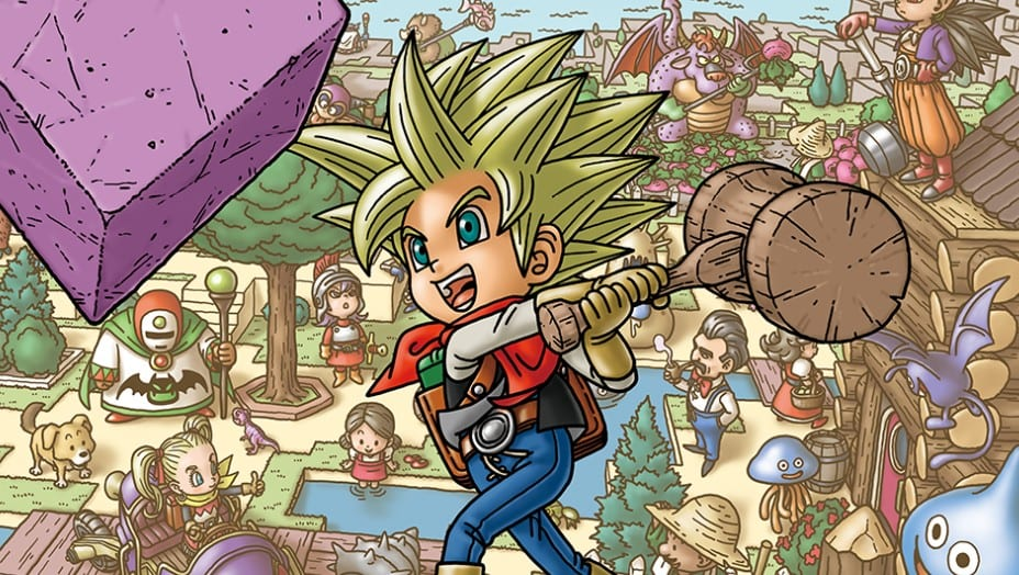 how to dig in dragon quest builders 2 and make holes