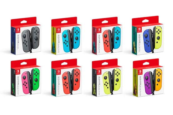 5 joycon colors we want to see next