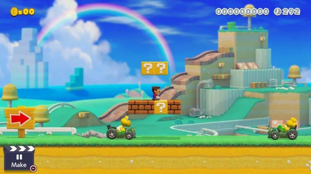 Super Mario Maker 2, Koopa Troopa Car