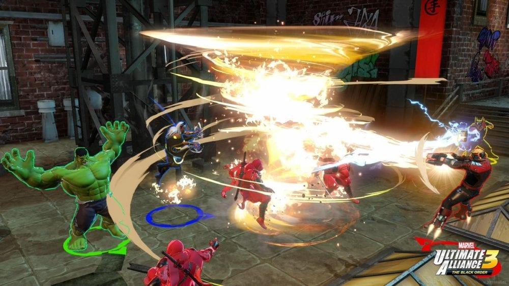 Marvel Ultimate Alliance 3, Synergy attacks