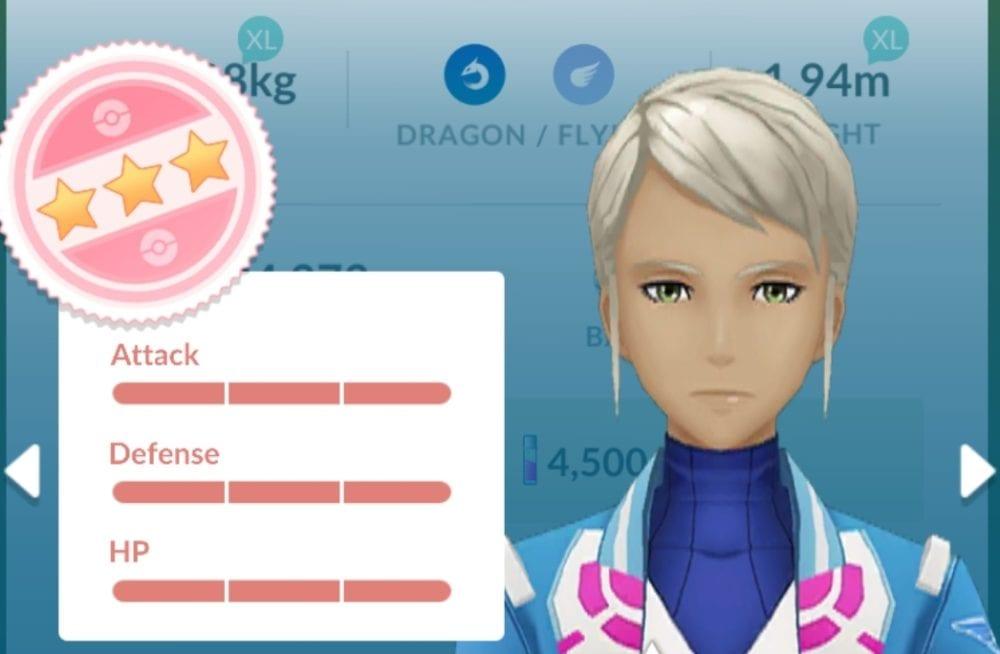 Pokemon Go, IV