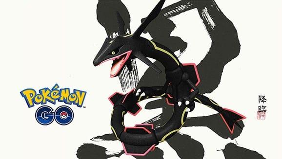 pokemon go, rayquaza
