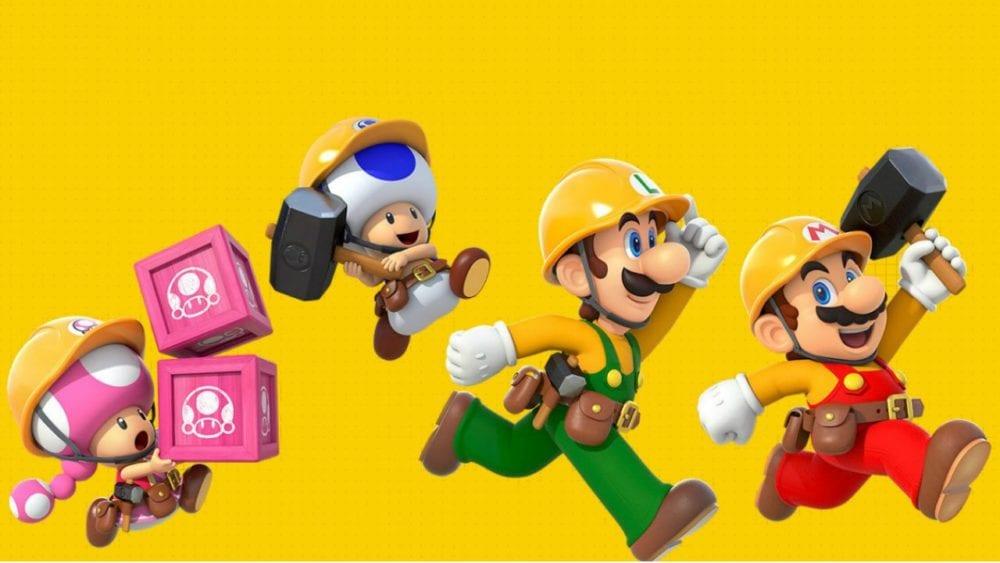 Super Mario Maker 2, online multiplayer, nintendo