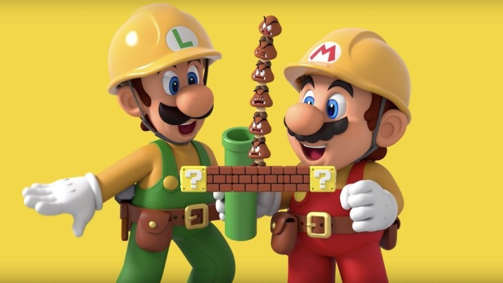 super mario maker 2, green flag, story mode, luigi
