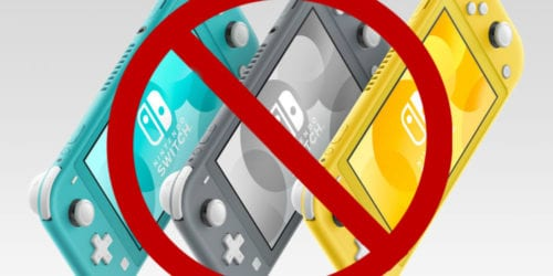 games switch lite cant play