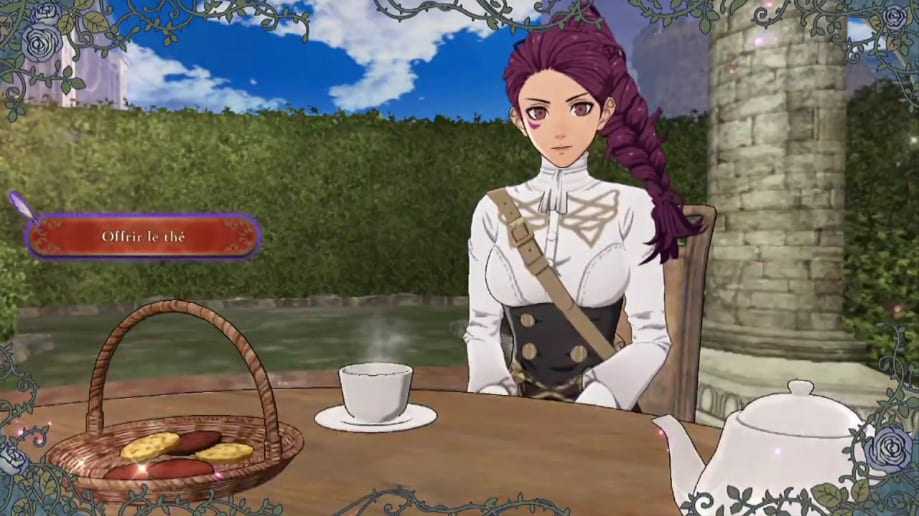fire emblem three houses, tea party, how to