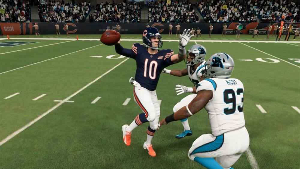touch pass in madden 20